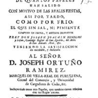 3464 - BENEGASI Y LUJAN, José Joaquin, El fiambre de quantos papeles han salido con motivo de las reales fiestas, 1766.pdf